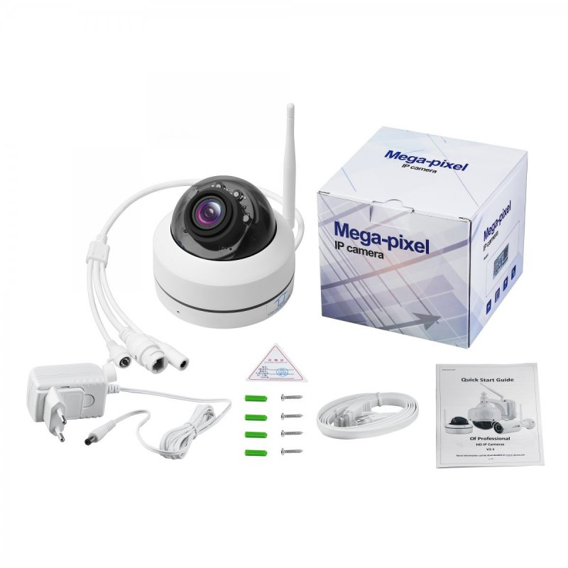 PTZ WiFi kamera Secutek SBS-D79W - 5MP, PoE