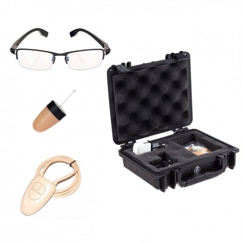 Очила за онлайн стрийминг + микрослушалка- комплект с отстъпка