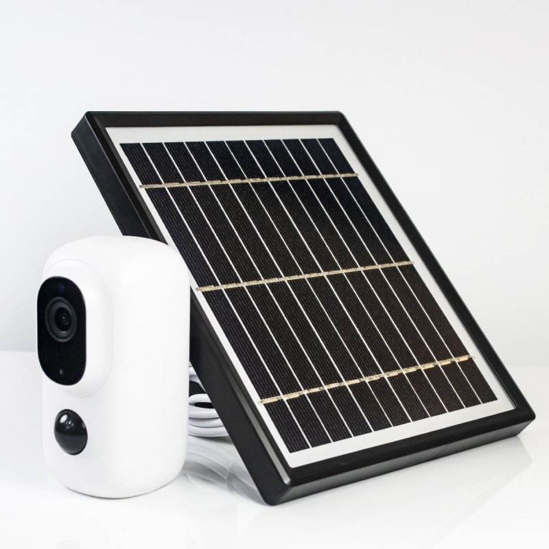 Akkubetriebene Solar-LTE-IP-Kamera Secutek SBS-QH15G