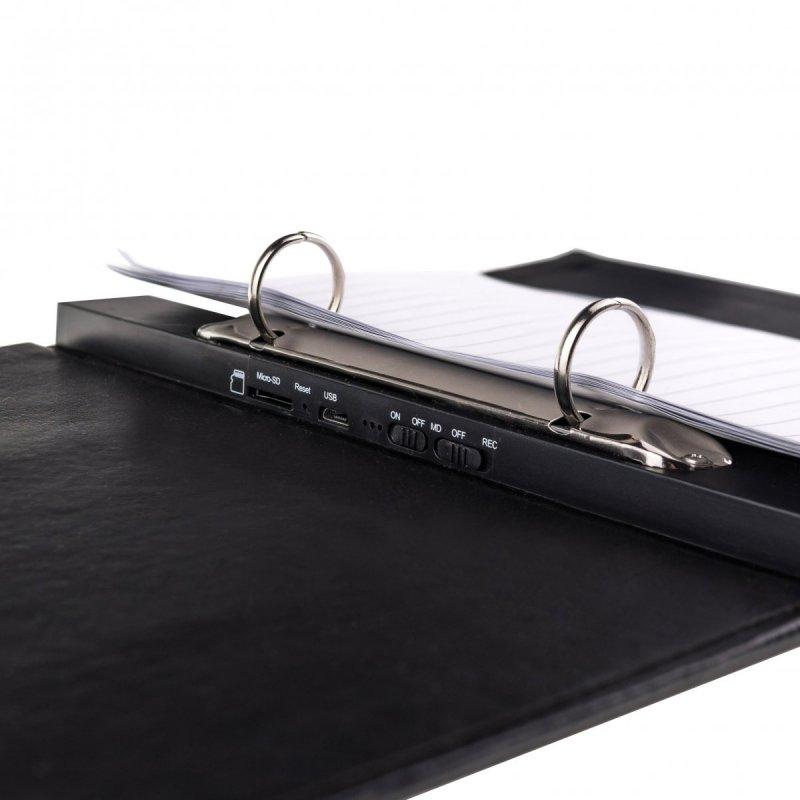 Dokumentenmappe mit eingebauter Full-HD-Kamera