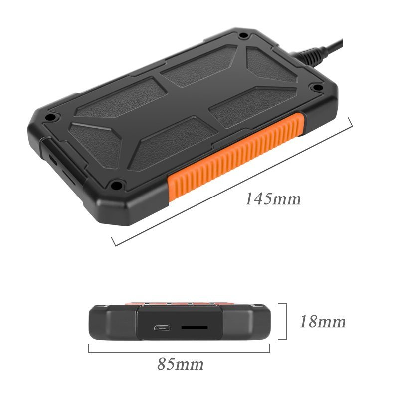 Ipari endoszkóp kamera LCD kijelzővel U8MM43M - 5m / 8mm