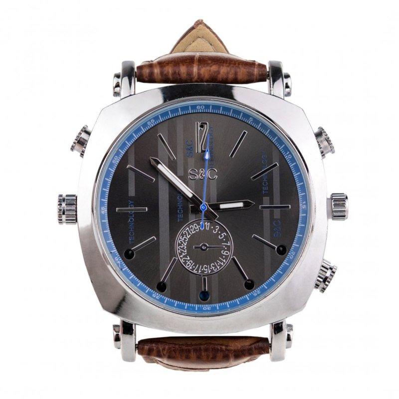 Špionážní Full HD hodinky WIR189 s nočním IR přisvícením