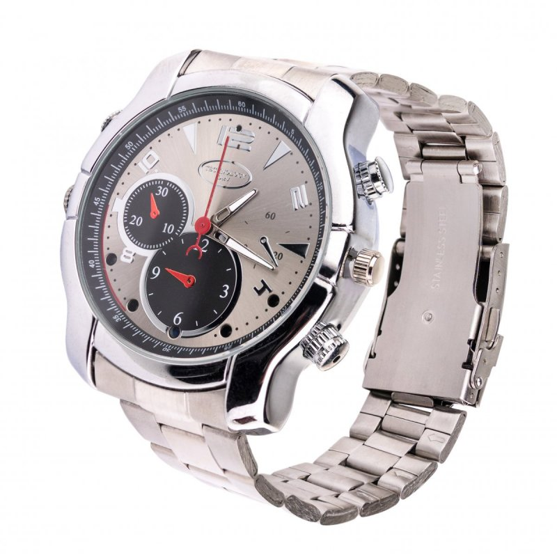 Špionážní FullHD hodinky SECUTEK WIR190 s IR přísvitem