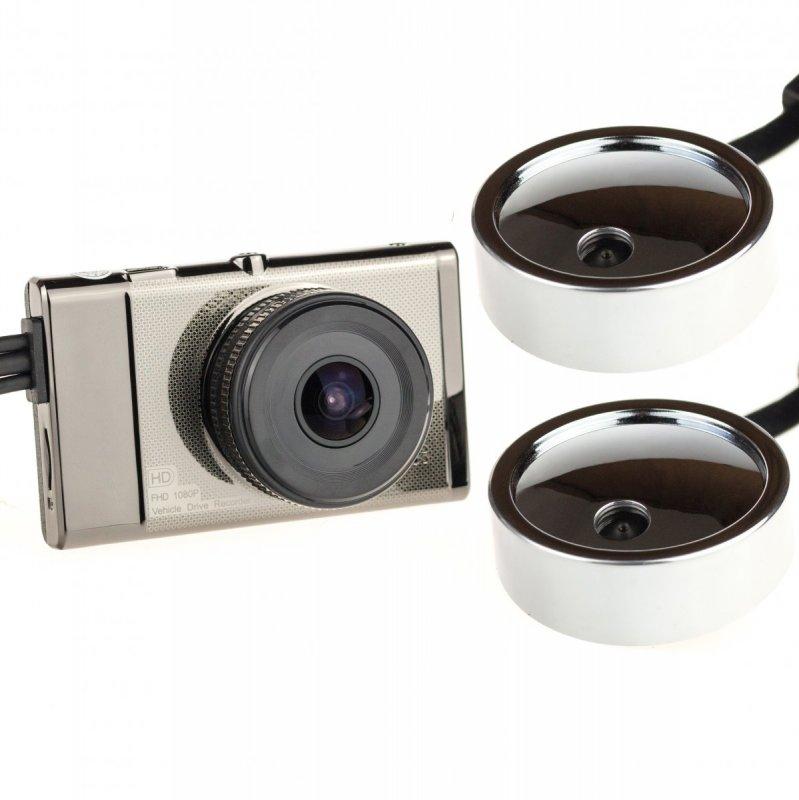 """3CH kamerový systém s 3"""" LCD a GPS na kamiony X1S"""