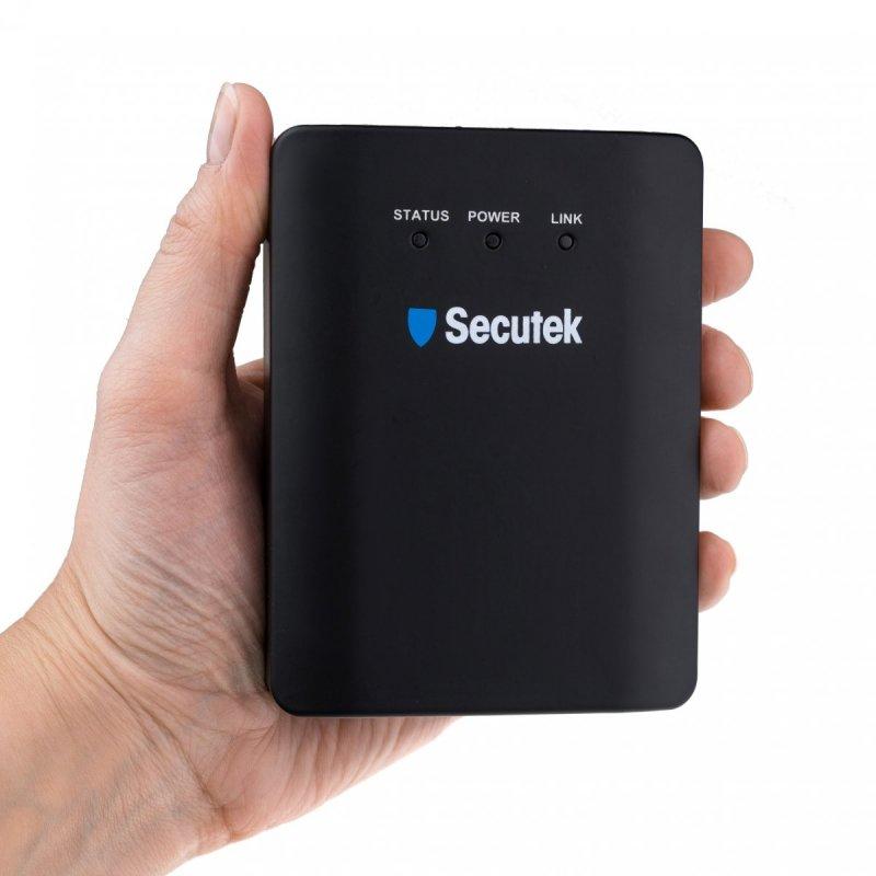 Full HD IP Server mit Kamera Secutek SLG-LMEMSL2002 - WiFi, PoE, P2P