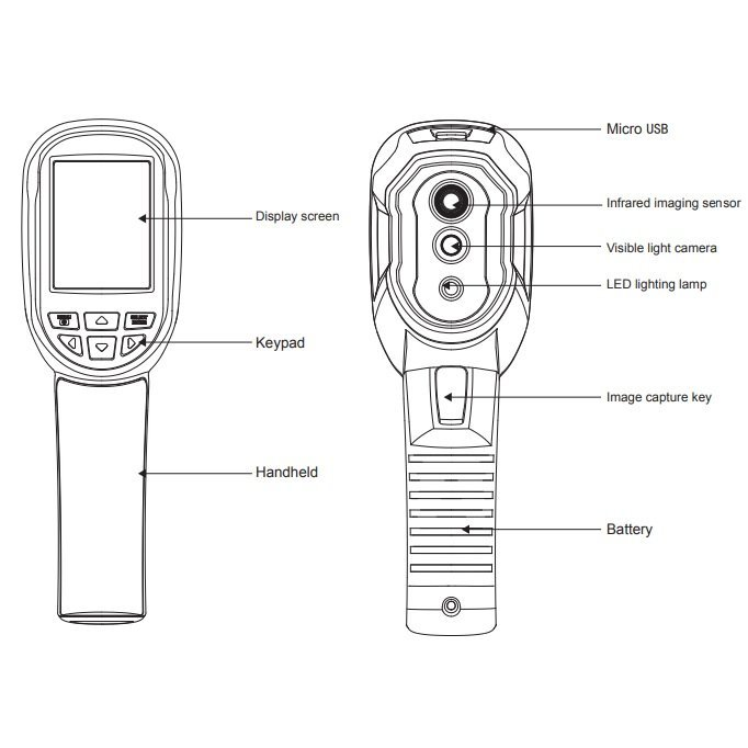 Termokamera HT-04D