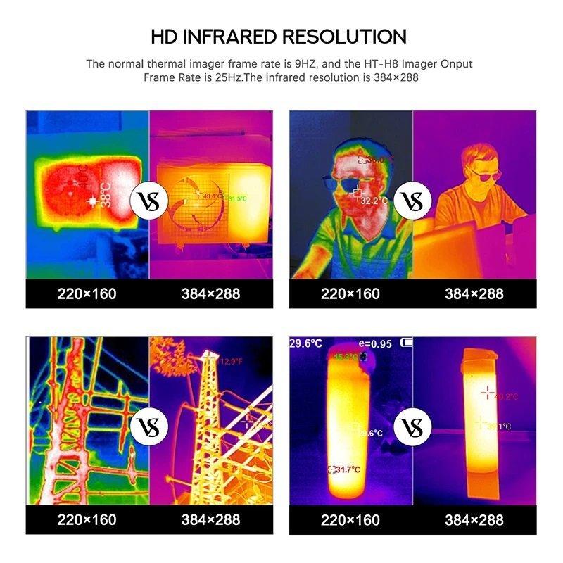 WiFi Wärmebildkamera HT-H8