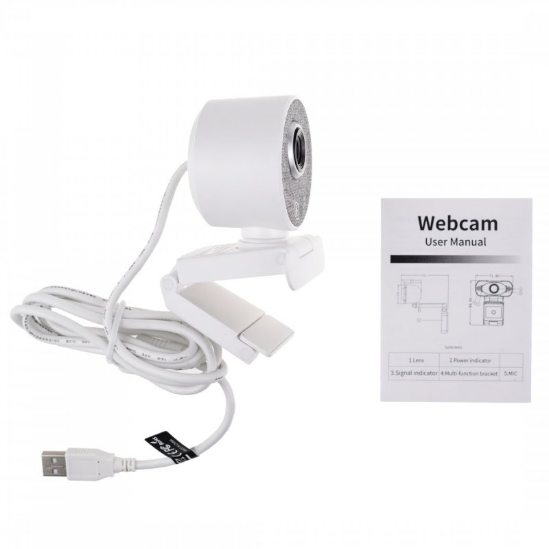 USB webkamera WUS-55 automatikus mozgásérzékeléssel
