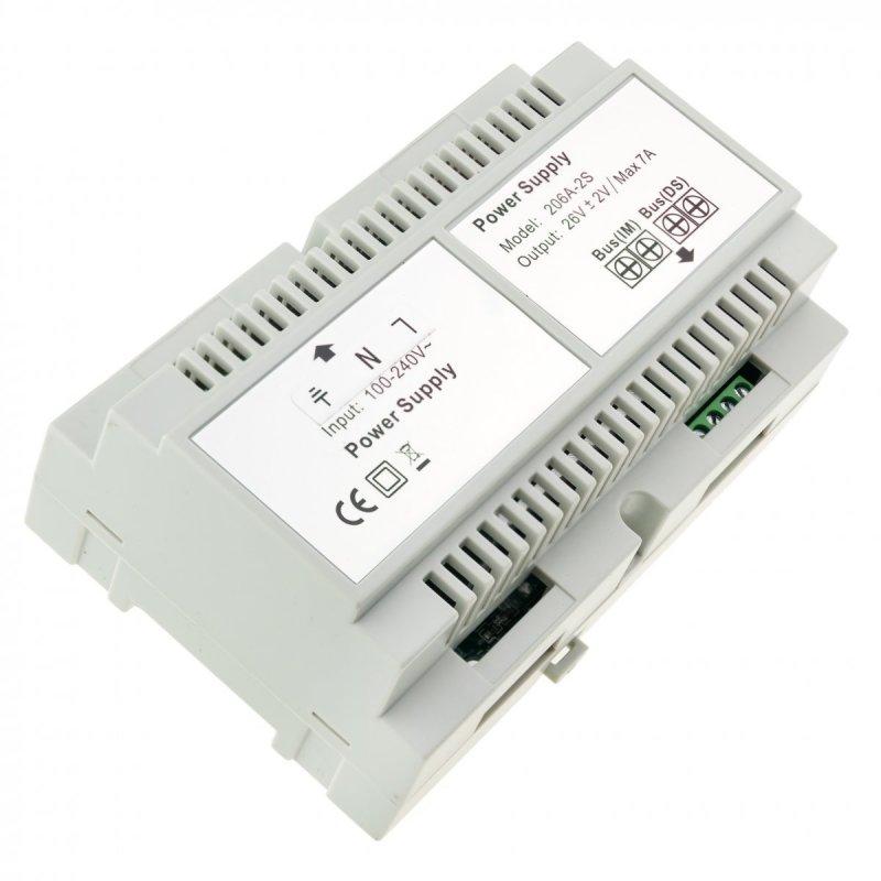 Secutek SPL-206A-2S kettős videócsengő tápegység