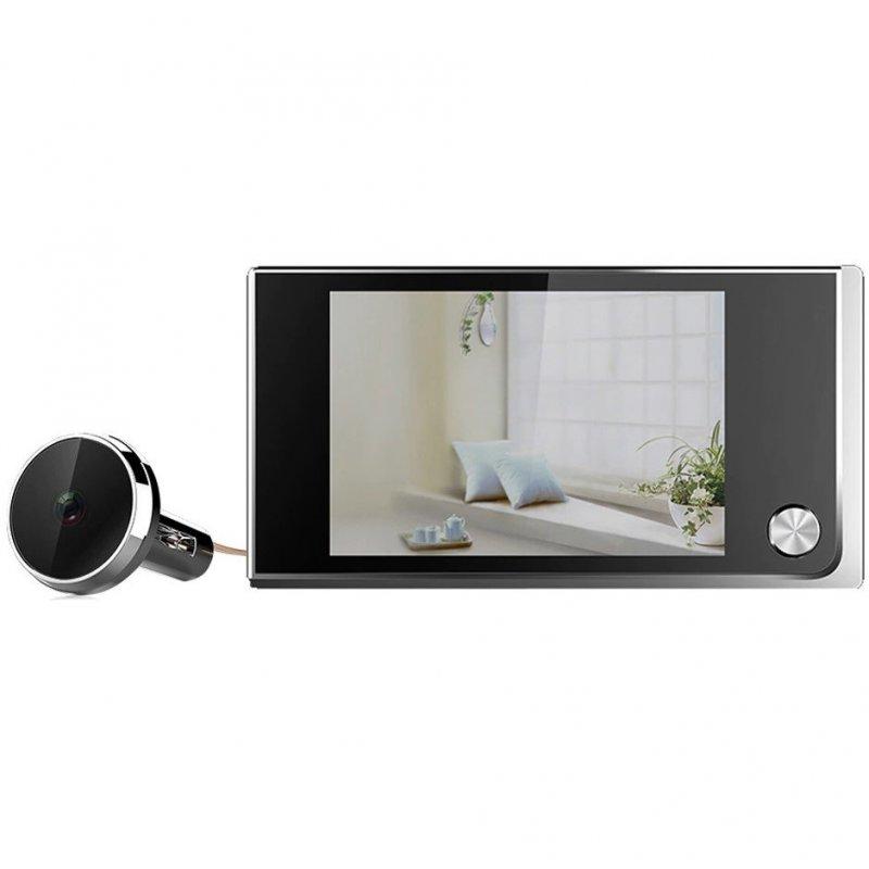 """Digitální dveřní kukátko Secutek SSF-520A - 3,5"""" LCD"""
