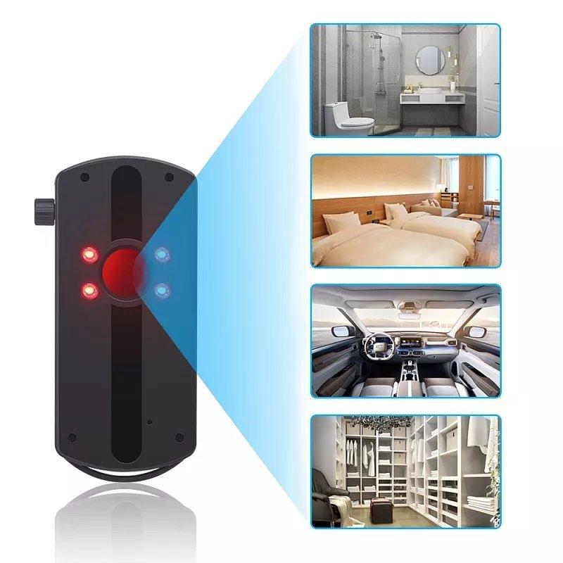 Detektor der drahtlosen Signale und versteckter Kameras Secutek SAH-DE06