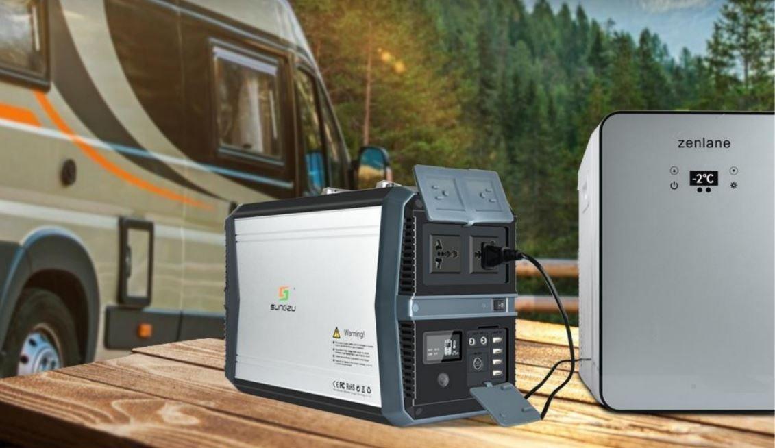 Outdoorový akumulátor 1000 W / 273 Ah