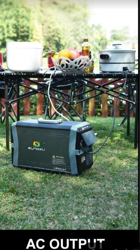 Baterie de exterior 1500 W / 52,2 Ah