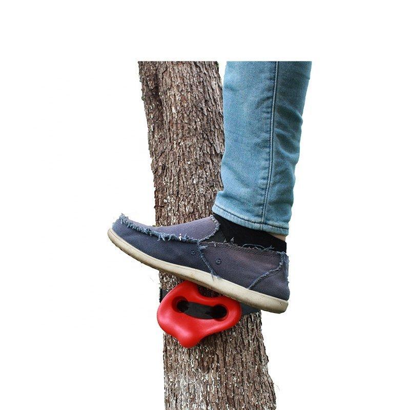 Дръжки за катерене със стягащи каишки за дърво