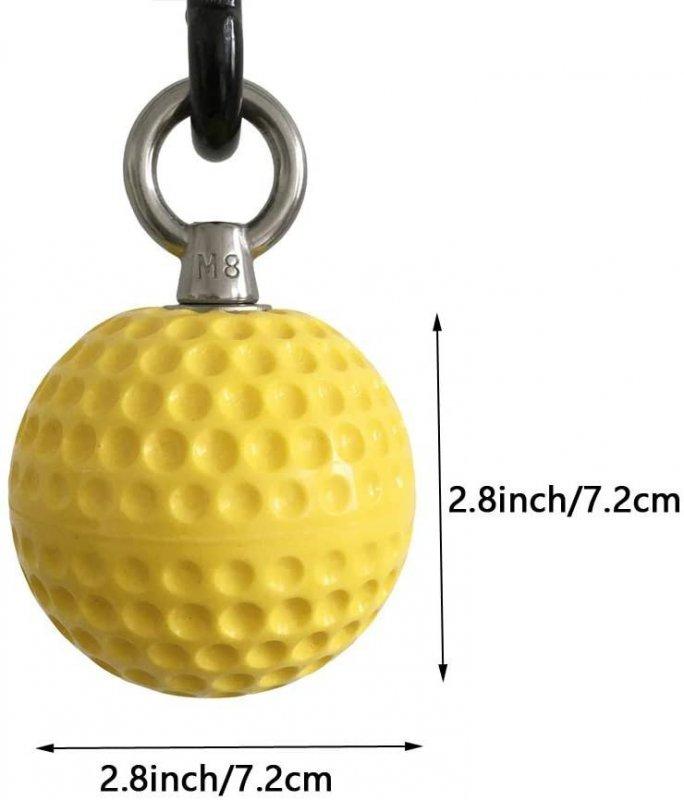 Висящи фитнес топки за лицеви опори Pull Up Ball 7,2cm