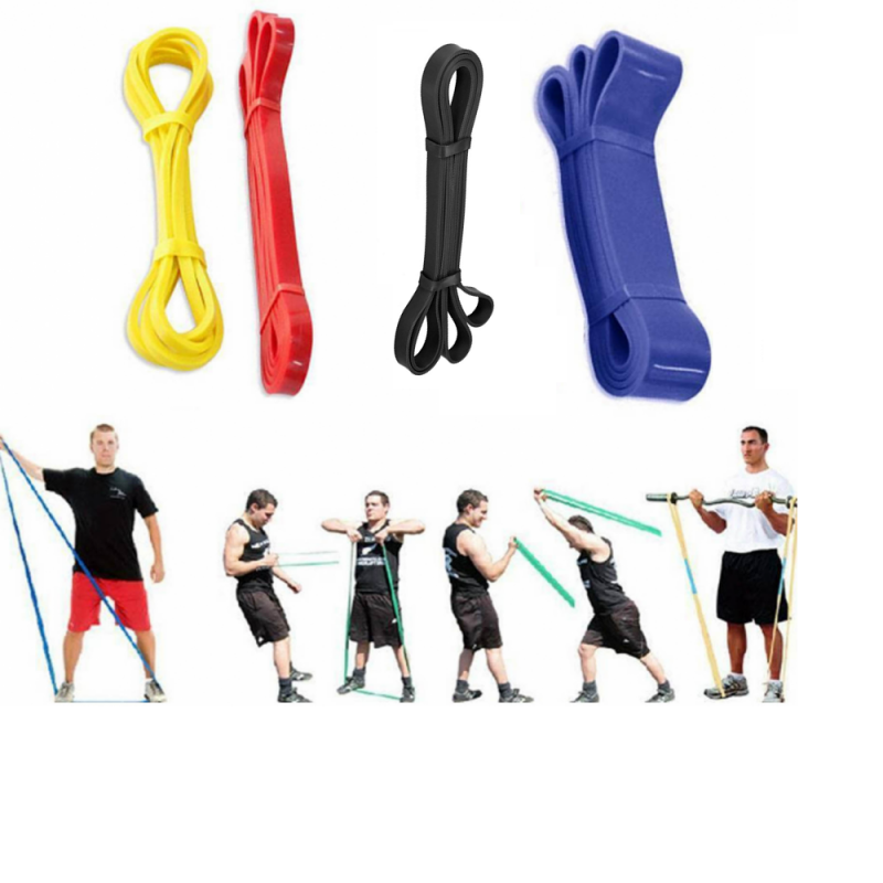 Комплект тренировъчни ластици 0-45кг, 4бр.