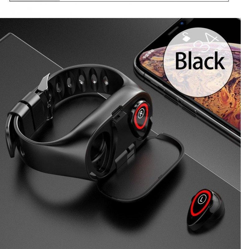 M1 Smart гривна с безжични слушалки