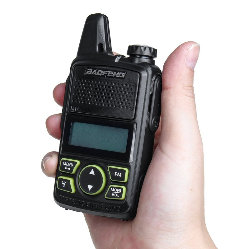 Sada 2ks mini UHF vysielačiek Baofeng BF-T1
