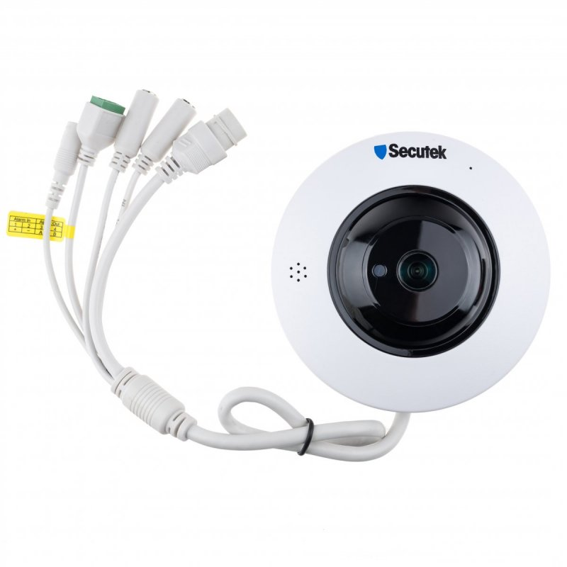 Panoramische WLAN IP kamera Secutek SLG-LMDERL400