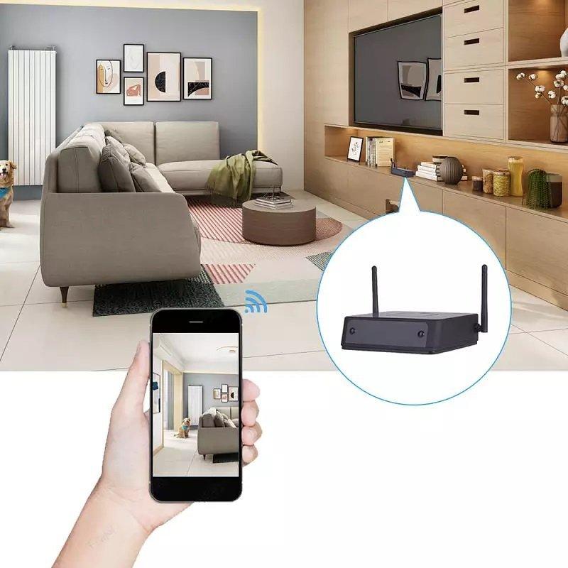 Ukryta kamera WiFi w routerze Secutek SAH-LS005