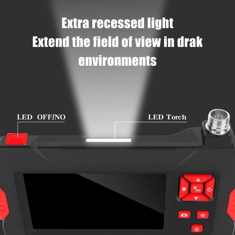 Duální inspekční kamera s LCD displejem P30