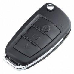 Kamera FULL HD z diodą IR ukryta w kluczykach do auta