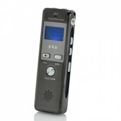 Citlivý diktafón s aktiváciou hlasom