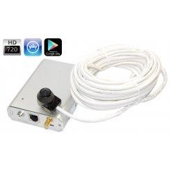 Intelligenter HD IP Server - WiFi, P2P, PoE + Minikamera
