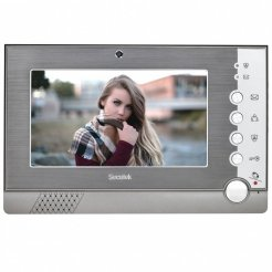 "Secutek VDP322 - interná 7"" LCD jednotka videozvončeka s detekciou pohybu"