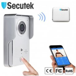 Inteligentní HD WiFi IP videozvonek Secutek HD WIFI602
