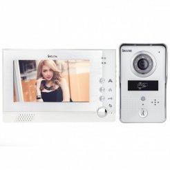 "Wideodomofon Secutek VDP313+CAM215A- 7"" LCD; RFID, nocne widzenie"