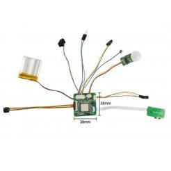 HD kamera modul PIR érzékelővel - akár 120 napos üzemidő