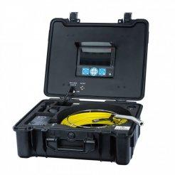Professionelle Inspektionskamera (lang) + Koffer mit Monitor