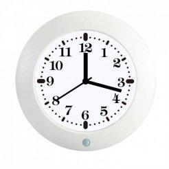 BAZAR - Nástěnné hodiny se skrytou kamerou a PIR čidlem