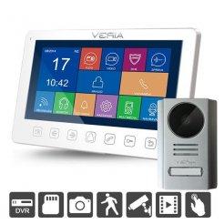 """Videotelefon Veria 7076B+229, 110°, DVR funkce, 7"""" LCD, noční vidění"""