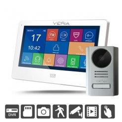 """Videotelefon Veria 7077B+229, 110°, DVR funkce, dotykové 7"""" LCD, noční vidění"""