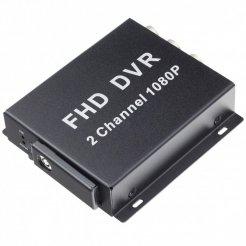 Mini AHD DVR - 2CH, 1080p, podpora 128GB