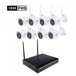 WiFi kamerový systém Secutek SLG-WIFI3608D8SF200 - 8x2Mpix...
