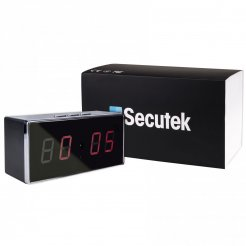 Digitaluhr mit Full HD WLAN Kamera Secutek SAH-IP009