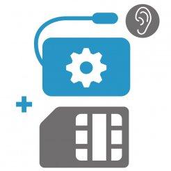 Nastavení GSM odposlechu + SIM karta