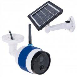 100% bezdrátová solární WiFi kamera Secutek SLL-C340