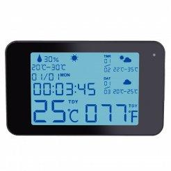 Időjárás állomás rejtett Wi-Fi-s kamerával Secutek SAH-WS06