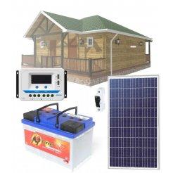 Solární systém 90Wp/12V