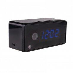 Digitális ébresztőóra rejtett WiFi kamerával WF175