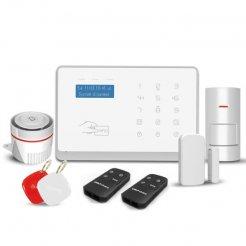 Domáci alarm Secutek SWD-WM3FX s GSM a WiFi
