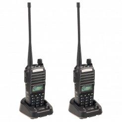 Sada 2ks UHF vysielačiek Baofeng UV-82 8W