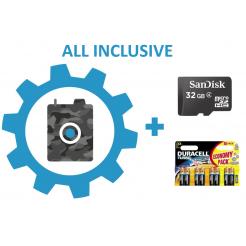 Nastavení fotopasti + 32GB SD karta