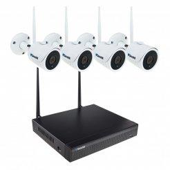 WiFi Kamerasystem Secutek SLG-WIFI3608ED4FE200 - 4x2Mpix Kamera, NVR