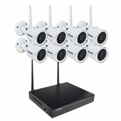 WiFi kamerový systém Secutek SLG-WIFI3608DE8FE200 - 8x2Mpix kamera, NVR