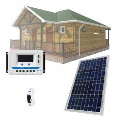 Solární systém 30Wp/12V (bez baterie)